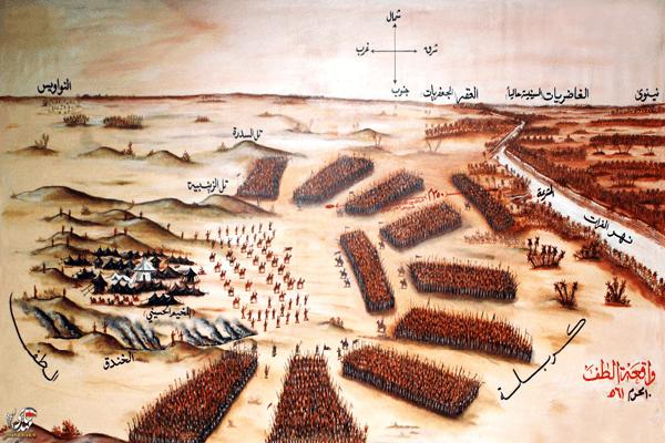 محاصره امام حسین علیه السلام در واقعه کربلا